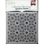 Tangled Pattern Donna Downey Signature Stencils