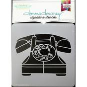 Rotary Phone Donna Downey Signature Stencils