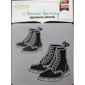 Boots Donna Downey Signature Stencils