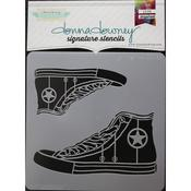 High Top Donna Downey Signature Stencils