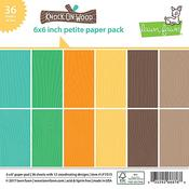 Knock On Wood Petite Paper Pack - Lawn Fawn