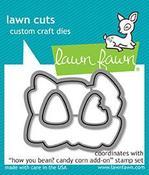 How You Bean? Candy Corn Add-On Lawn Cut Die - Lawn Fawn
