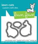 Sealed With A Kiss Lawn Cuts - Lawn Fawn