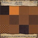 "Halloween Idea-Ology Kraft Stock Cardstock Pad 8""X8"" - Tim Holtz"