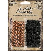 Black & Orange Idea-Ology Trimmings - Tim Holtz
