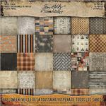 """Halloween Idea-Ology Paper Stash Double-Sided Paper Pad 8""""x8"""" - Tim Holtz"""