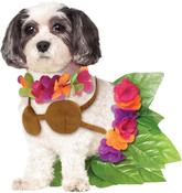 Large - Rubie's Hula Girl Pet Costume