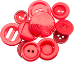 Red - Button Jar 4oz