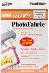 """100% Cotton Twill - Crafter's Images Photofabric 8.5""""X11"""" 5/Pkg"""