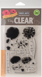 """Color Layering Poppy - Hero Arts Clear Stamps 4""""X6"""""""