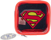Superman - Everything Mary DC Comics Square Zipper Pouch 4.25x1.5x4.25
