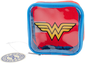 Wonder Woman - Everything Mary DC Comics Square Zipper Pouch 4.25x1.5x4.25