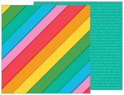 Rainbowtastic Paper - Happy Hooray - Pebbles