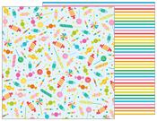 Candy Shoppe Paper - Happy Hooray - Pebbles