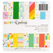 Happy Hooray 6 x 6 Paper Pad - Pebbles