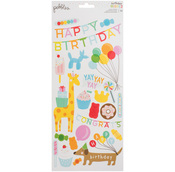 Happy Hooray Sticker Sheet - Pebbles