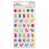 Happy Hooray Puffy Icon Stickers - Pebbles