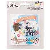 Happy Hooray Ephemera - Pebbles