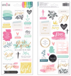 Scripture Stickers - Creative Devotion - American Crafts