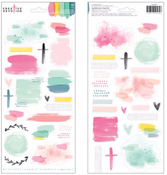 Textured Stickers - Creative Devotion - American Crafts