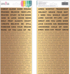 Word Stickers - Creative Devotion - American Crafts