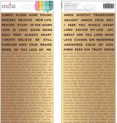 Word Stickers - Creative Devotion - American Crafts