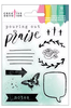 Acrylic 2 Stamp Set - Creative Devotion - American Crafts