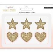 Glitter Hearts & Stars - Magnet Studio - Maggie Holmes