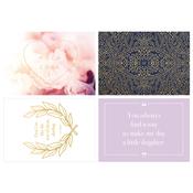 """Chic; Blank - Kaiser Style Cards W/Envelopes 4""""X6"""" 8/Pkg"""