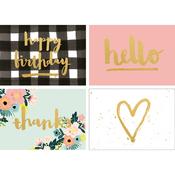"""Bloom; Blank - Kaiser Style Cards W/Envelopes 4""""X6"""" 8/Pkg"""
