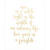 Eternal; Fairy Tale - Kaiser Style Foil Print