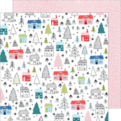 Winter Wonderland Paper - Sweater Weather - American Crafts