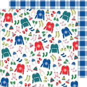 Bundle Up Paper - Sweater Weather - American Crafts