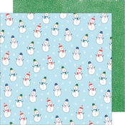 Snow Friends Paper - Sweater Weather - American Crafts