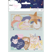 Star Gazer Copper Foiled Ephemera - Dear Lizzy - PRE ORDER