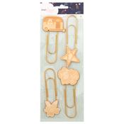 Star Gazer Paper Clip Wood Icons - Dear Lizzy