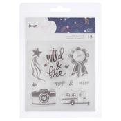 Star Gazer Acrylic Stamp Set - Dear Lizzy