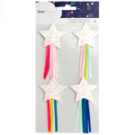 Star Gazer White Glitter Shooting Stars - Dear Lizzy