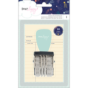 Star Gazer Stamp & Notepad Set - Dear Lizzy