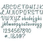 "Alphanumeric Script, 1"" Tall Thinlits Die - Tim Holtz"