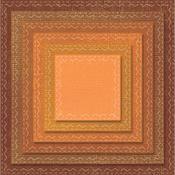 Stitched Squares Tim Holtz Framelits Dies 6/Pkg