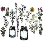 Flower Jar Tim Holtz Framelits Dies 23/Pkg