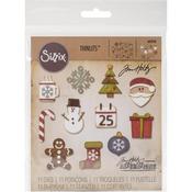 Mini Christmas Things Sizzix Thinlits Dies By Tim Holtz 11/Pkg