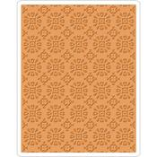 Rosettes Texture Fades Embossing Folder - Tim Holtz