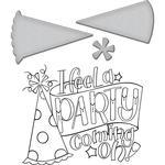 Party - Spellbinder Happy Grams #4 Stamp & Die Set By Tammy Tutterow
