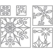 Snowflake Snippets - Spellbinders Shapeabilities Dies