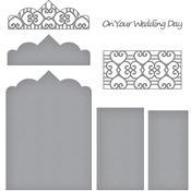 Double Heart Gatefold Card - Spellbinder Timeless Heart Designer Series
