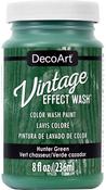 Hunter Green - Vintage Effect Wash Paint 8oz