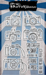 """Snap - Brutus Monroe Clear Stamps 4""""X6"""""""