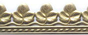 "Ivy 1"" - U-Paint Vintage Brass Deco-Trim"